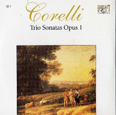 Complete Works CD01 - Sonate da Chiesa a trè, op. I