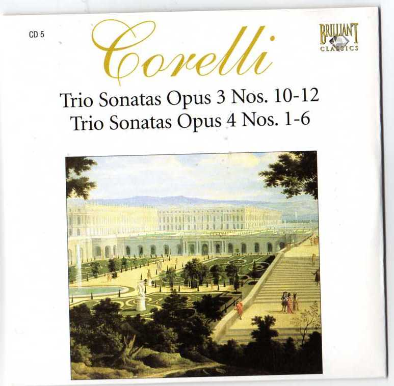 Complete Works CD05 - Sonate da Chiesa a trè, op. III 10-12, op. IV 1-6