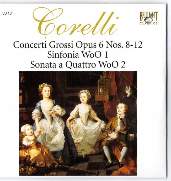 Complete Works CD09 - Concerti Grossi, op. VI 1-7
