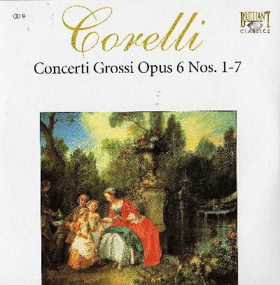 Complete Works CD10 - Concerti Grossi, op. VI 8-12
