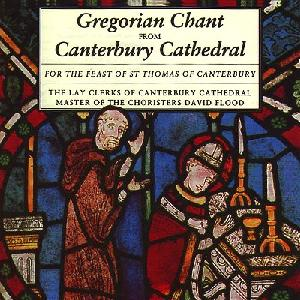 Gregorian Chant for the Feast of St. Thomas of Canterbury